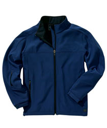 Charles River Soft Shell Jacket - Midnight Blue and Black