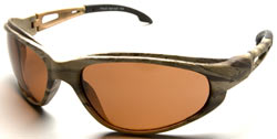 Dakura Camouflage Safety Glasses with Polarized Copper Driving Lenses