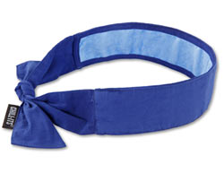 Chill-Its® Evaporative Cooling Bandana in blue