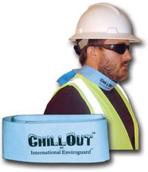 ChillOut Evaporative Cooling Neckband