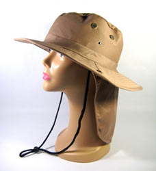 Bucket Flap Sun Protection Boonie Hat with Neck Shade
