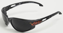 Dakura Fire Series Safety Glasses with Smoke Lenses
