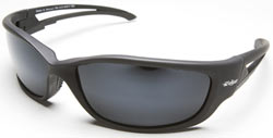 Kazbek XL Safety Glasses with Polarized G-15 Silver Mirror Lenses