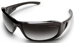 Brazeau Safety Glasses with Polarized Gradient Lenses